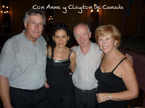 Anne y Clayton de Canada