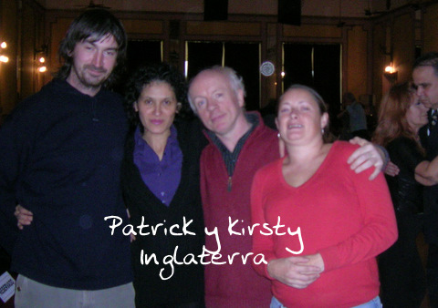 Patric y Kirsty