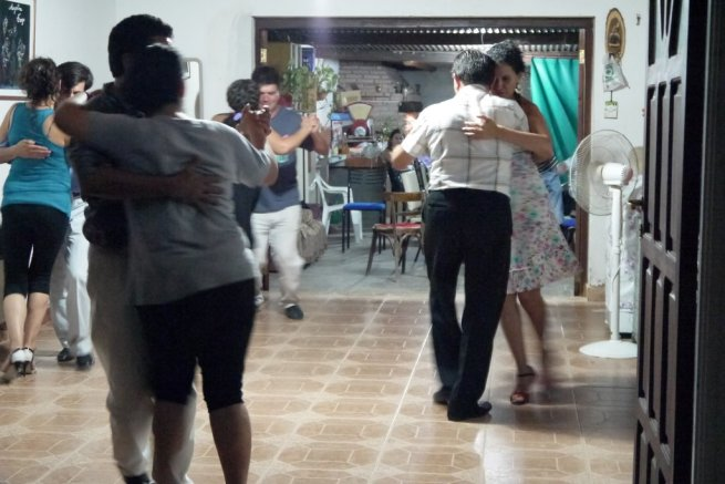 Impromptu Class in Villa Dolores while on holidays in Cordoba
