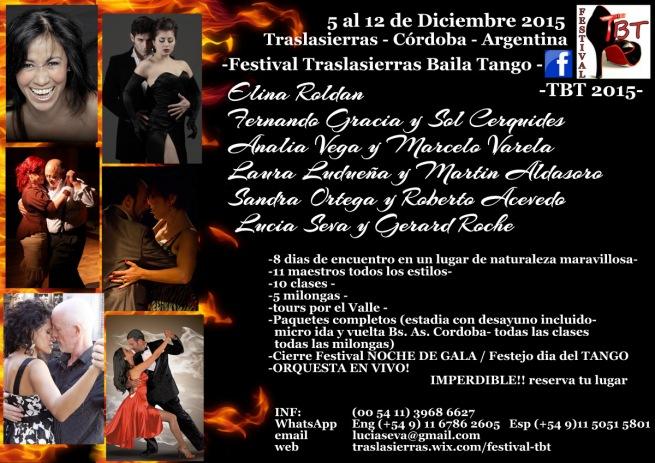 Traslasierras Baila Tango 2015